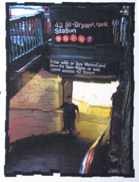 James Storie, </span><span><em>42nd &amp;amp; Bryant Park, 2004</em>, </span><span> giclee assemblage, 48 x 36 inches