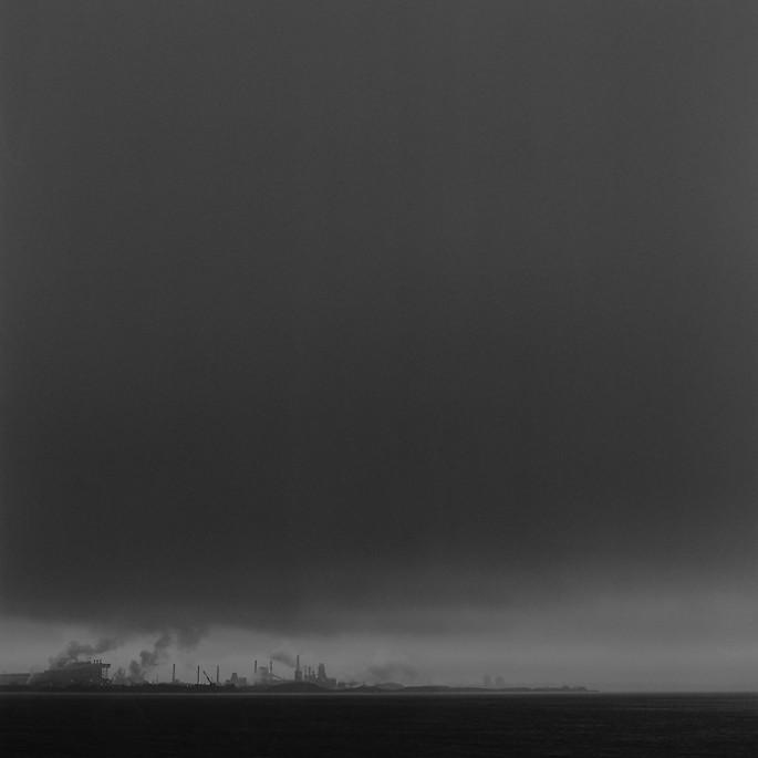 Coyle, </span><span><em>Steel Works, Ontario, 2003</em>, </span><span>Silver Gelatin, 5x5