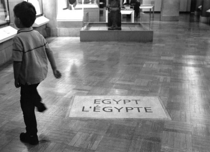 Sophie Roberge, </span><span><em>Egypt, 2006</em>, </span><span>Resin Coated Black &amp;amp; White Print, 8 x 10 inches