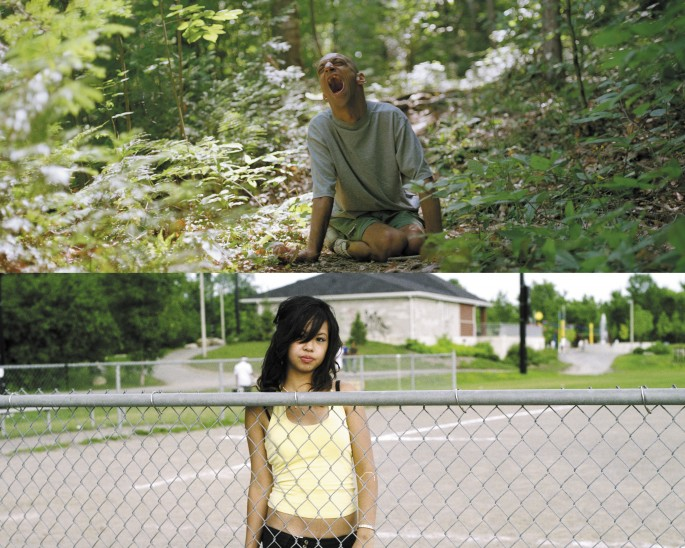 (top) Christophe Jivraj, (bottom) May Truong, </span><span><em>both 2005</em>