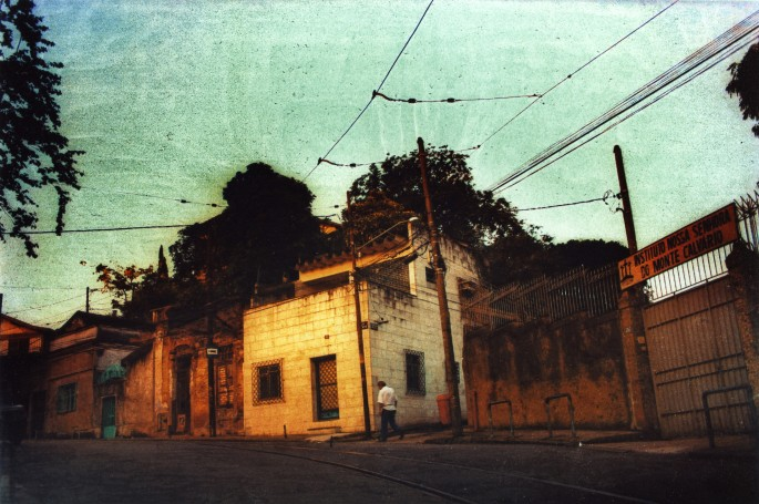 Sara Salahub, </span><span><em>Sunset in Rio, 2005</em>, </span><span>Acrylic Negative, RC print, 16x20