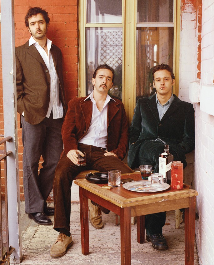 Pierre Dalpé, </span><span><em>The Hernandez Brothers, 2005</em>, </span><span>,   x