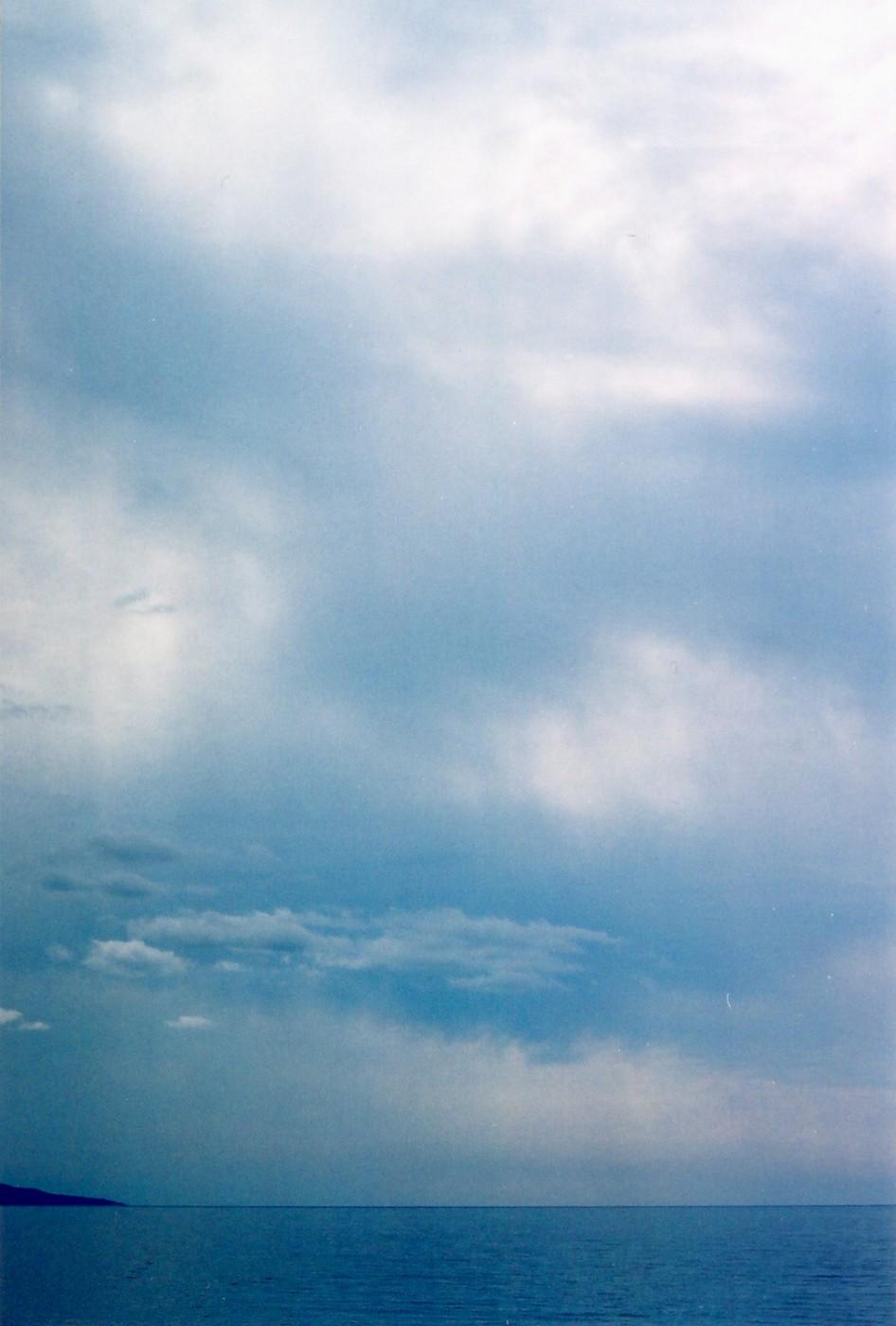 Pat Cassidy, </span><span><em>Superior Blue</em>, </span><span>Canvas, 28 x 24