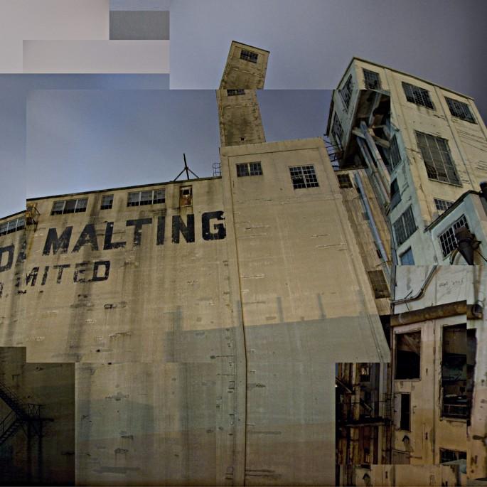 Sean Galbraith, </span><span><em>Malt Plant, 2006</em>, </span><span>C-Print, 24x48
