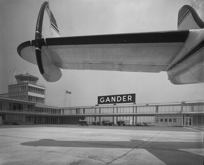 The Panda Collection, </span><span><em>Gander Airport, 1960</em>, </span><span>36