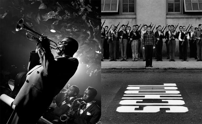 <em>Left: Saving Jazz, Right: My Eyes Were Fresh</em>