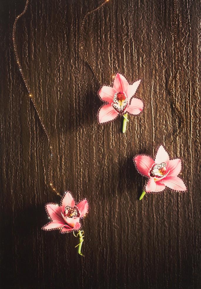 Richard Emmanuel &amp;amp; Stephanie Foltys, </span><span><em>Ballet of Orchids, 2007</em>, </span><span>Framed - Original Jewel Art size is 28