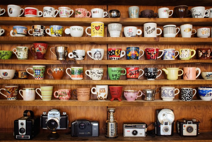 Armando Lulu, </span><span><em>Caffè Café  , 2008</em>, </span><span>digital photo,  12 x 16