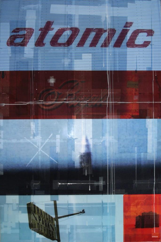 Bill Douglas, </span><span><em>Atomic for the People, 2007</em>, </span><span>Mixed Media