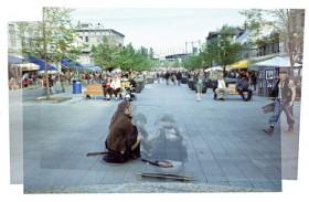 Shelley Wildeman, </span><span><em>Place Jacques Cartier, 2007</em>, </span><span>digital, 19 x 13