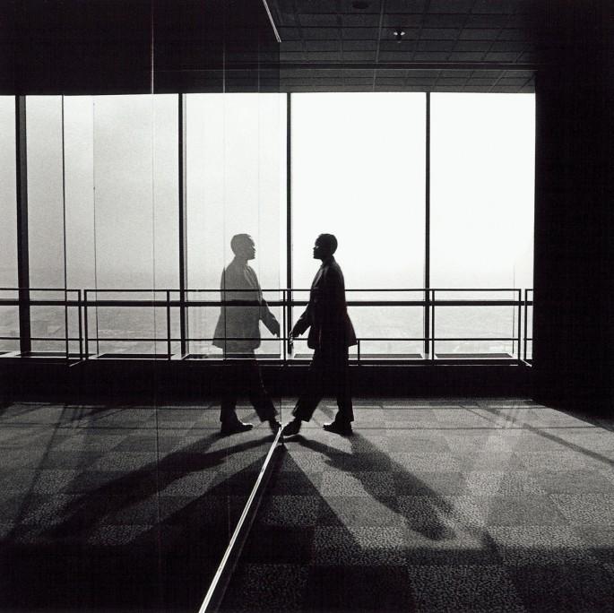 Jim Hurtubise, </span><span><em>Observation Deck, Chicago 1998</em>, </span><span>Gelatin Silver Print, 14