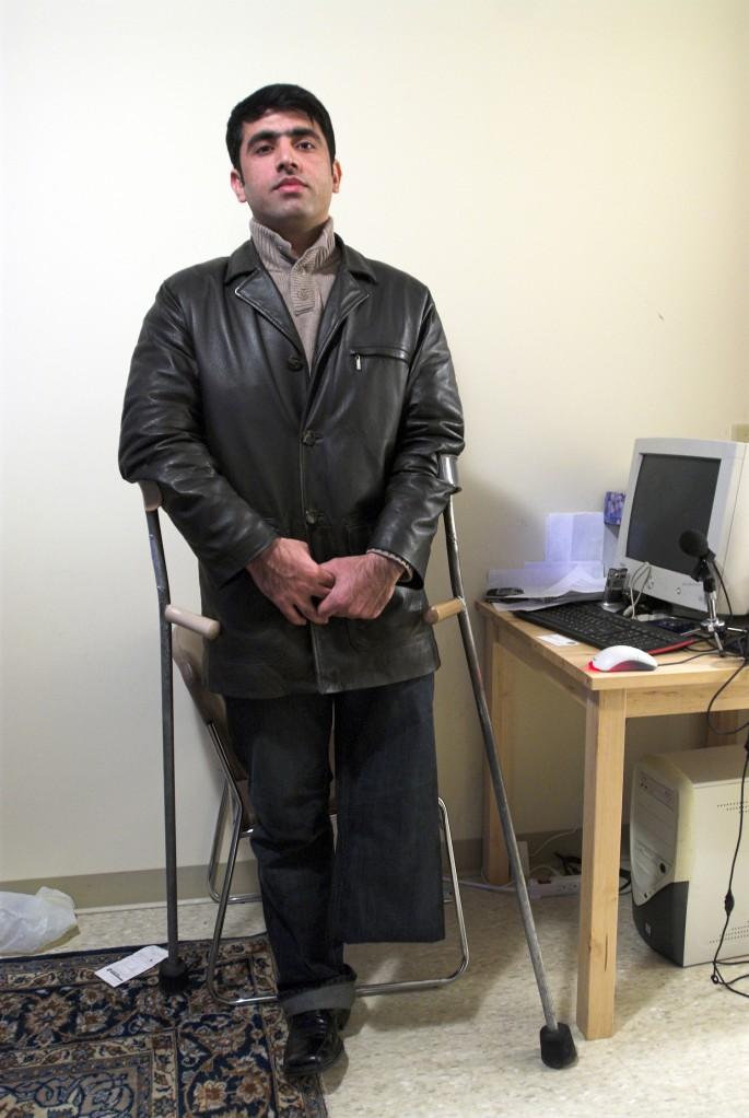 Michael  Phang, </span><span><em>Dr. Sherzai, 2007</em>, </span><span>16 x20