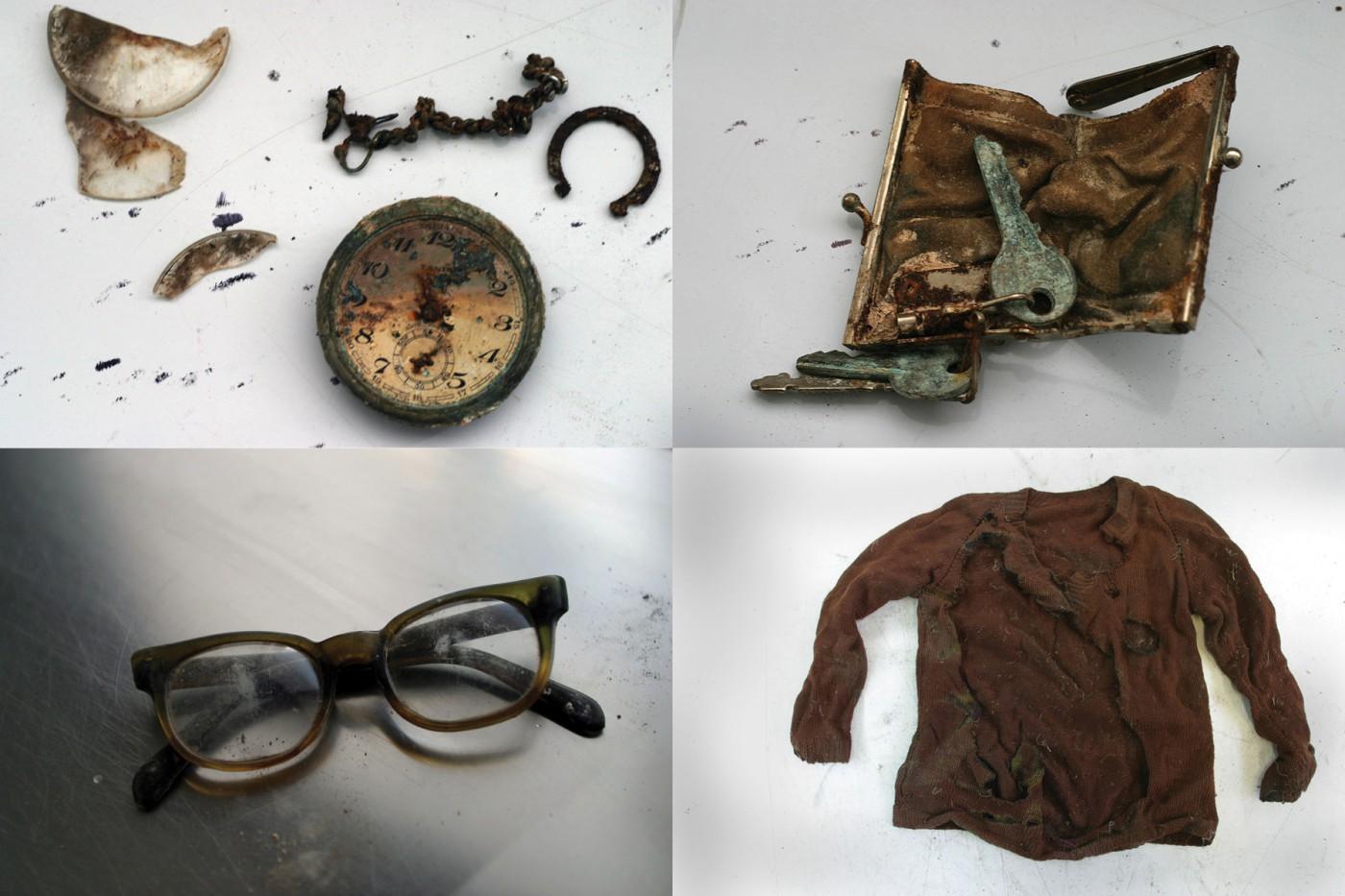Roger Lemoyne, </span><span><em>Evidence from Graves, Bosnia, 2006</em>