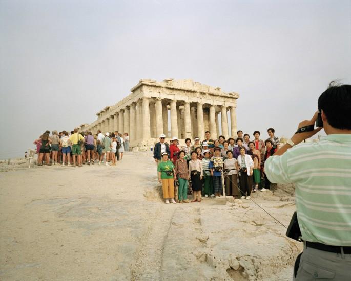 Martin Parr, </span><span><em>Greece, Athens, Acropolis, 1991©  Martin Parr/Magnum Photos</em>