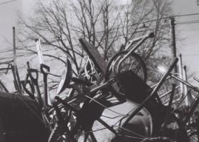 Tiffany Maggio, </span><span><em>Trash Totem II</em>, </span><span>C Print, 8 x 10
