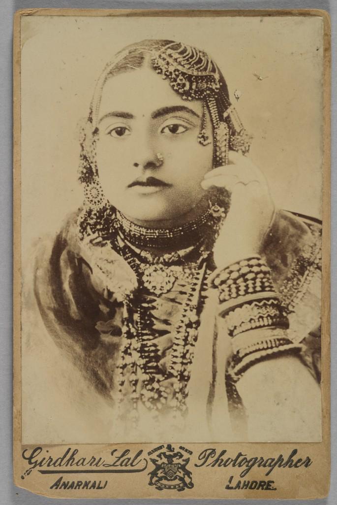 Girdhali Lal, </span><span><em>Portrait of a Woman, 1885</em>