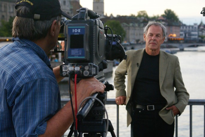 Joe Passaretti, </span><span><em>Correspondent Linden MacIntyre with Cameraman Colin Allison, 2007</em>