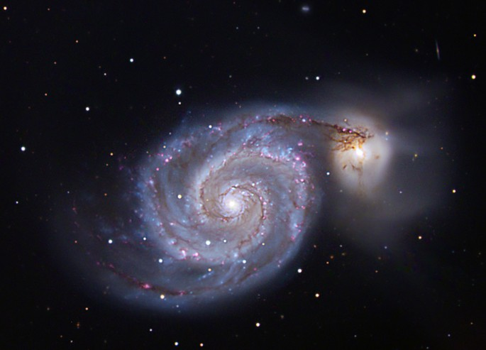 Rémi Lacasse, </span><span><em>The Whirlpool Galaxy</em>, </span><span>Digital Photograph