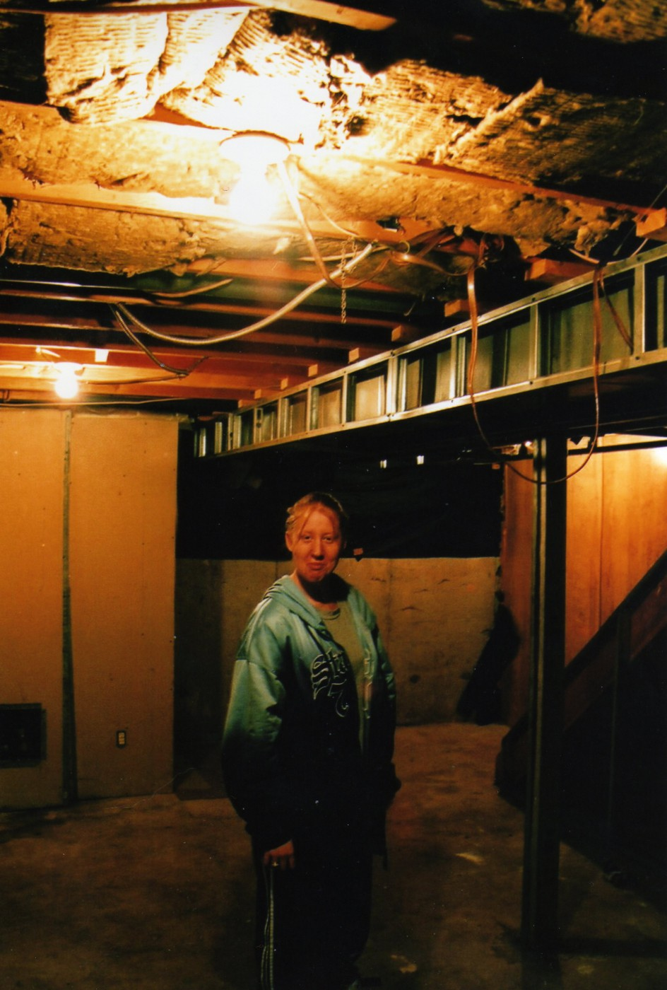April Ryk, </span><span><em>Basement, 2008</em>, </span><span>Analog, 12x8