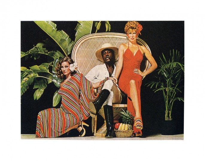 Hank Willis Thomas, </span><span><em>Are You the Right Kind of Woman For It?, 1974/2007</em>, </span><span>Digital c-print, 39 x 43 in., ed. 5