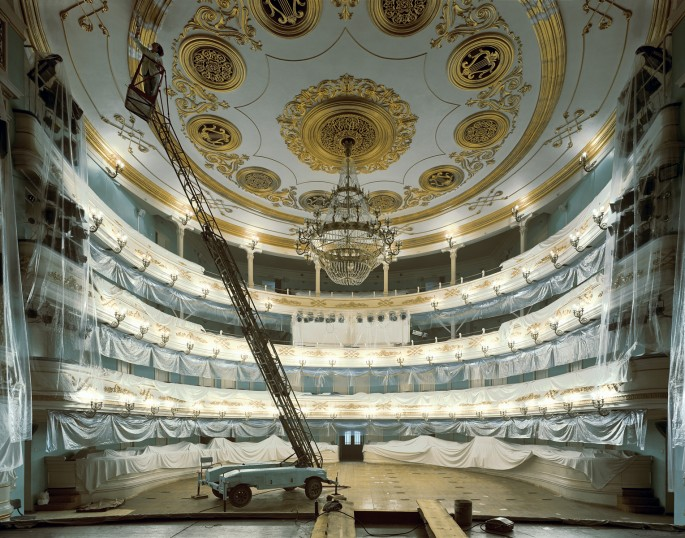 Andrew Moore, </span><span><em>Opera House, Irkutsk, 2003</em>, </span><span>40 x 50 inches