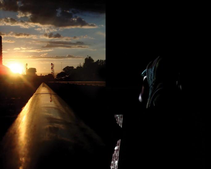 Joey Burke &amp;amp; Jay Field, </span><span><em>Dancer by the Tracks</em>, </span><span>2010