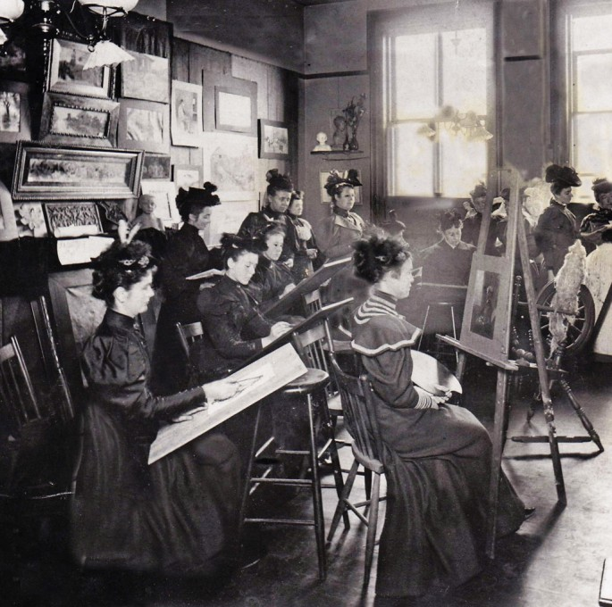 Unknown, </span><span> Artists Studio