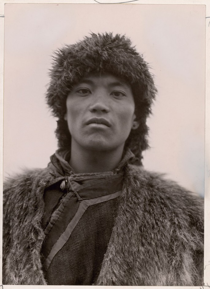 © Joseph F. Rock / National Geographic Society / Courtesy of Stephen Bulger Gallery, </span><span><em>Joseph F. Rock, Hsifan Escort on Second Konkaling Expedition, Mount Konka, China, Published July 1931</em>, </span><span>