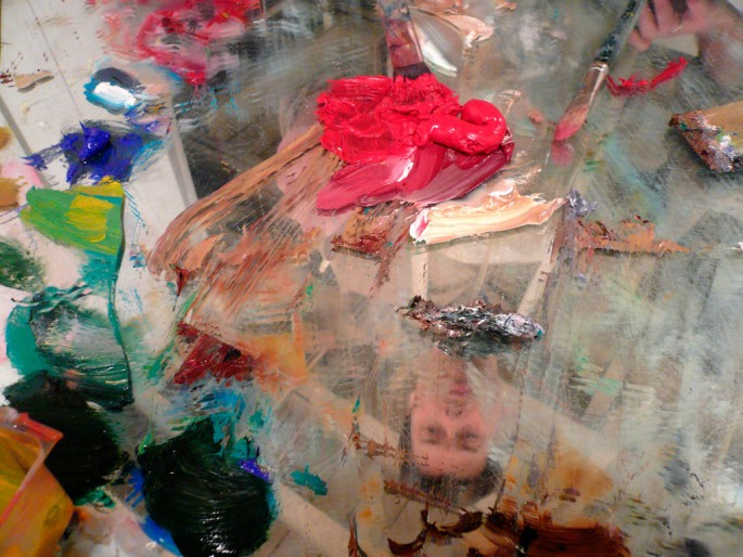 Adam Harrison, </span><span><em>01. Palette</em>, </span><span>2009 All images courtesy of the artist and Clark &amp;amp; Faria, Toronto