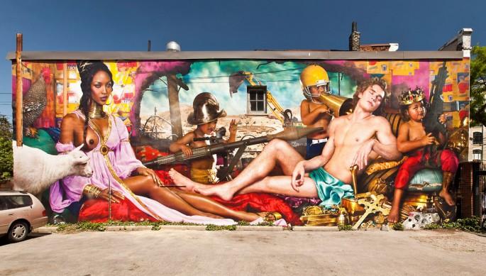 Installation view of &lt;em&gt;The Rape of Africa&lt;/em&gt;, </span><span> © Toni Hafkenscheid
