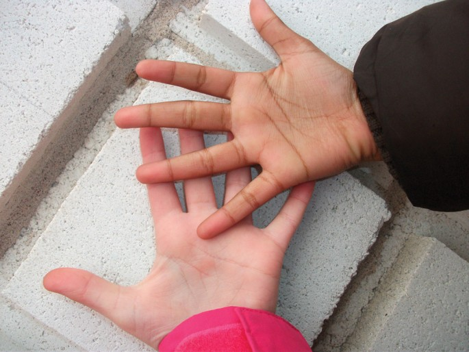 Justin Alla, </span><span><em>Our Hands</em>, </span><span>2011