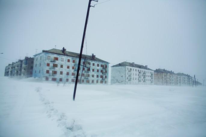 Donald Weber, </span><span><em>Oktyabir Settlement, Vorkuta, Komi Republic</em>, </span><span>