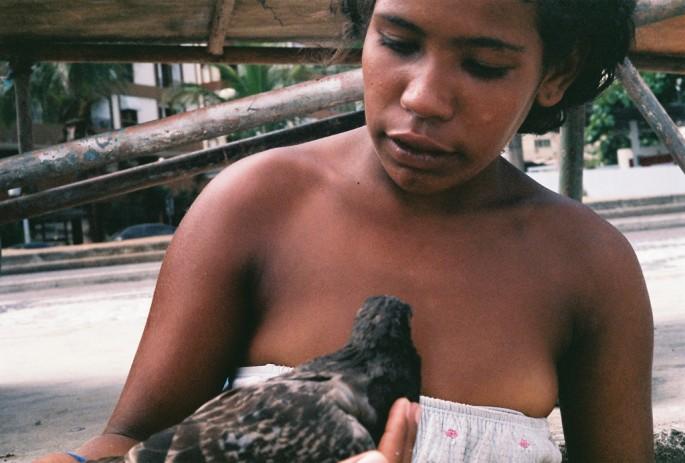 Chantal James, </span><span><em>Graciele and Pigeon</em>, </span><span>2007