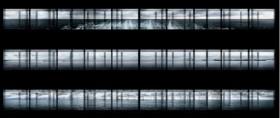 Isabel M. Martinez, </span><span><em>Horizon(x3) #1, Horizon(x3) #2, Horizon(x3) #3</em>, </span><span>2011