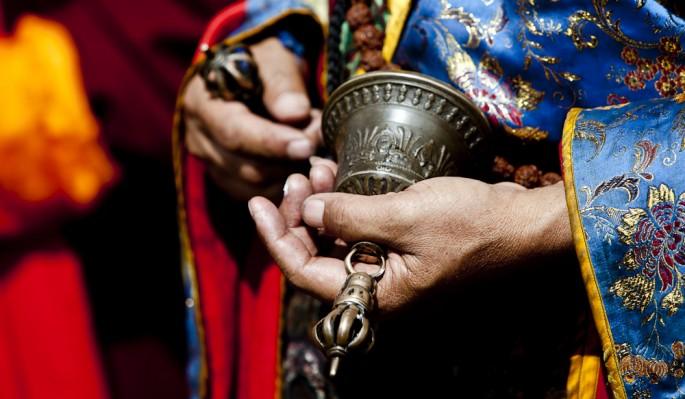 photo by Paul A. Teolis, </span><span><em>tibetan prayer bell</em>, </span><span>2009