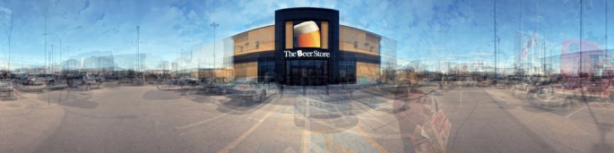 Tori Foster and Jesse Colin Jackson, </span><span><em>Nine Beer Stores, Southern Ontario</em>, </span><span>2010