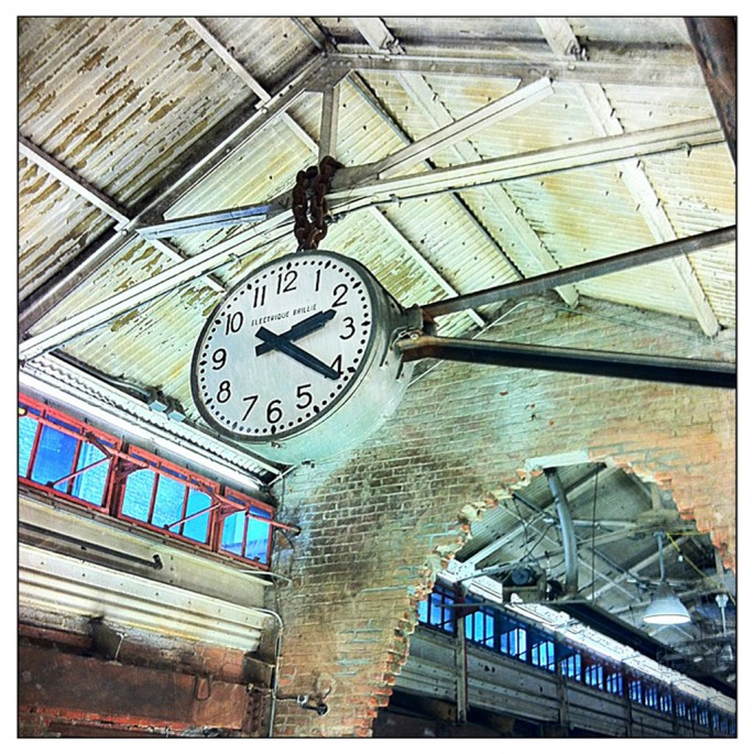 Jennifer Reedie, </span><span><em>Chelsea Market Clock</em>, </span><span>2011