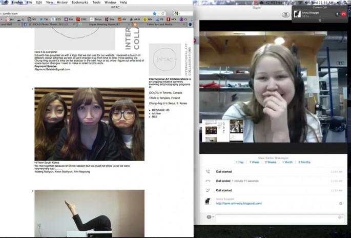 Melissa Jean Clark, </span><span><em>Video Post Review over Skype</em>, </span><span>2012