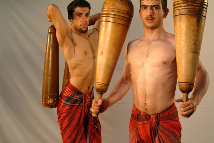 Sadegh Tirafkan, </span><span><em>Zoorkhaneh series</em>, </span><span>2003-4