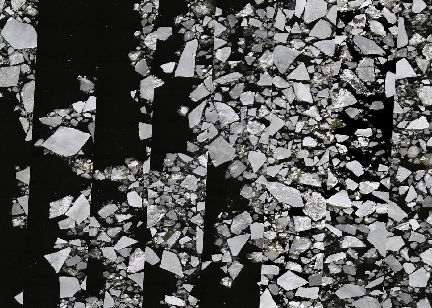 Alain Paiement, </span><span><em>Drifting Ice</em>, </span><span>2012