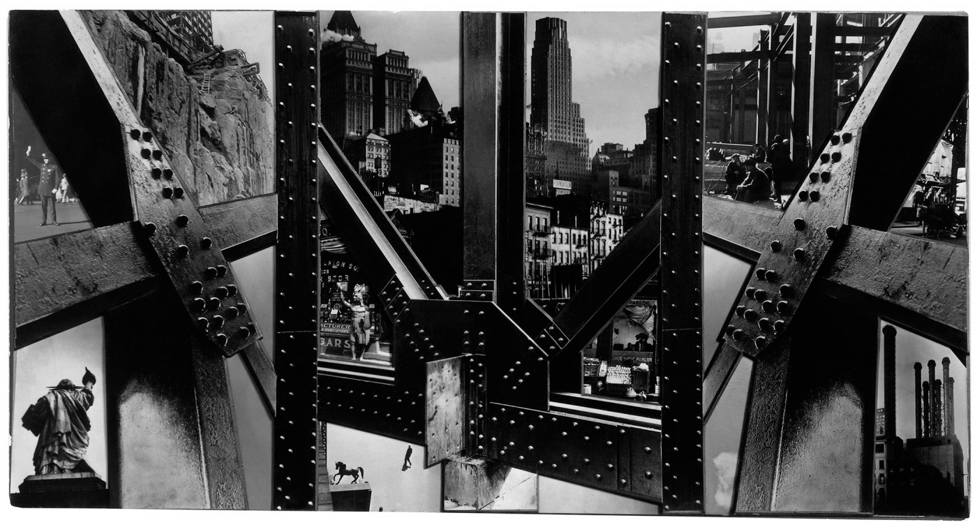 Berenice Abbott, </span><span><em>Photomontage, New York</em>, </span><span>1932