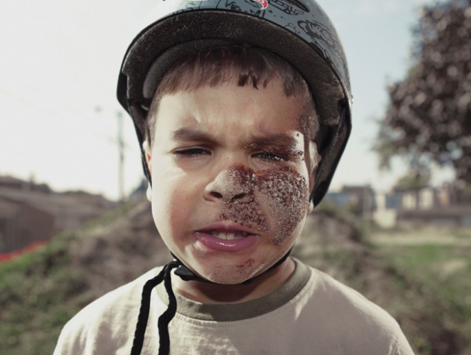 Mark Ridout, </span><span><em>Yikes on Bikes: Jacob</em>, </span><span>2011