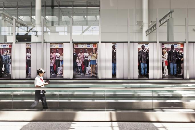 Bill Sullivan, </span><span><em>Stop Down (The Elevator Pictures)</em>, </span><span>2012 Image credit Toni Hafkenscheid