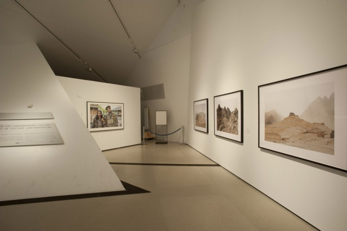 Installation view of &lt;em&gt;Larry Towell, Donovan Wylie: Afghanistan&lt;/em&gt;, </span><span>Institute for Contemporary Culture, Royal Ontario Museum, 2012 Photo by Brian Boyle, courtesy of the ROM. All rights reserved.