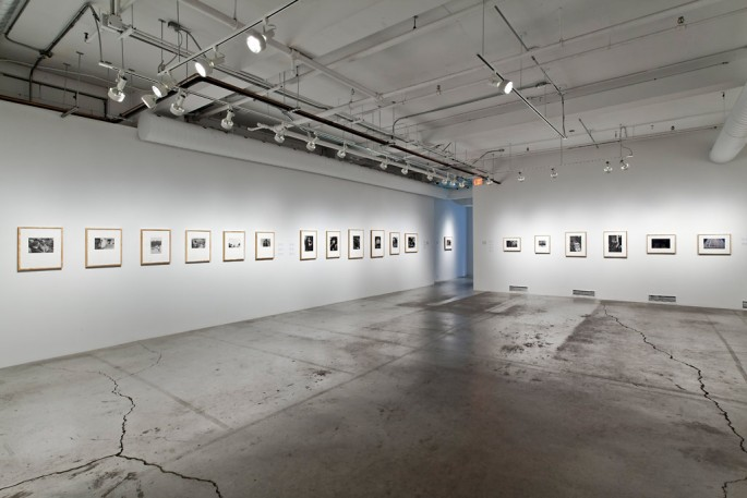 Installation view of &lt;em&gt;Street View&lt;/em&gt;, National Gallery of Canada at the Museum of Contemporary Canadian Art, 2012, </span><span> © Toni Hafkenscheid