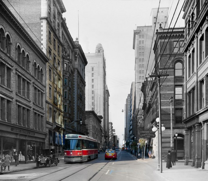 Harry Enchin, </span><span><em>King and Toronto 1920/2012</em>, </span><span>2012