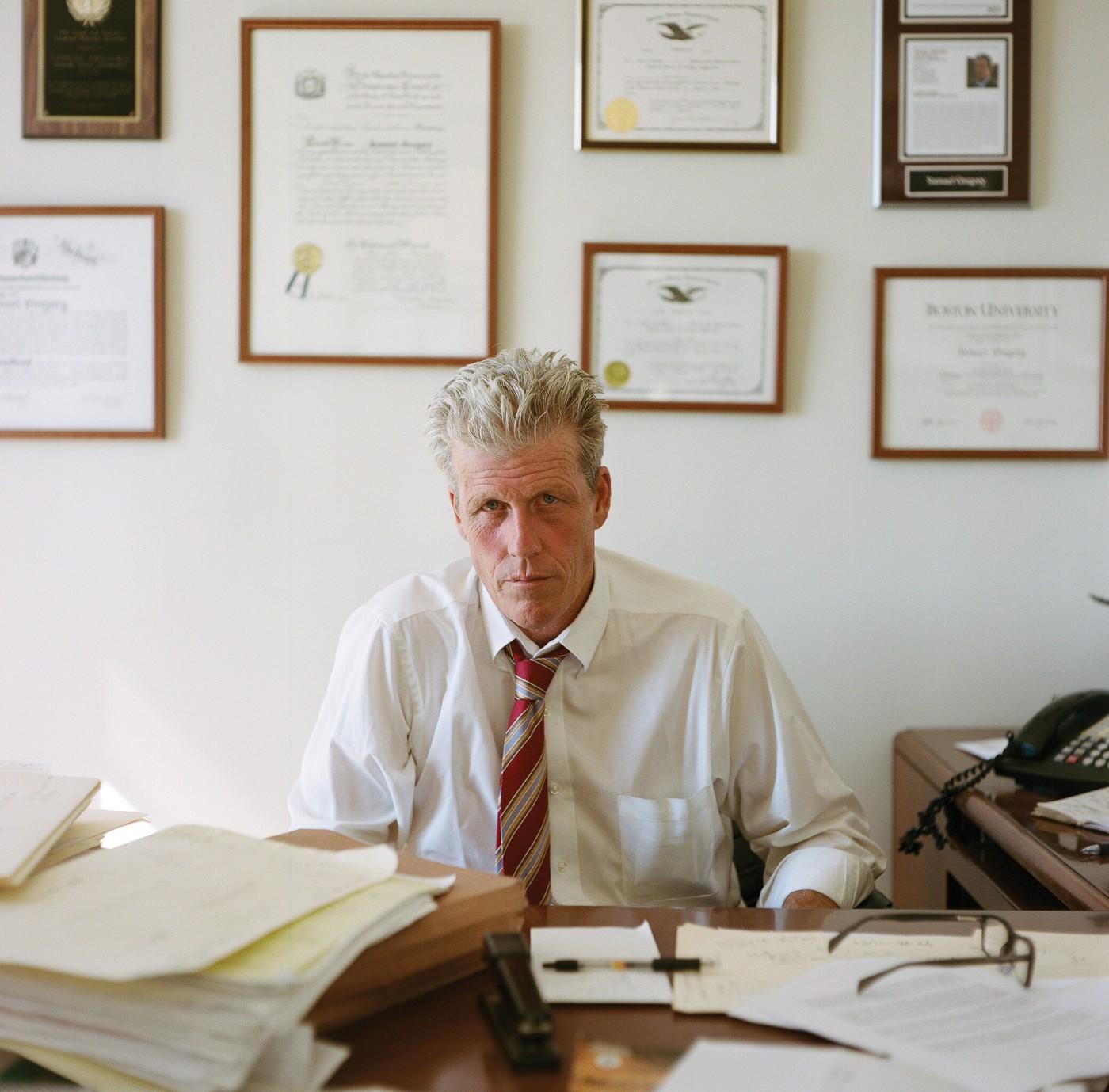 Dan Epstein, </span><span><em>Portrait of Sam Gregory, Brooklyn</em>, </span><span>2013