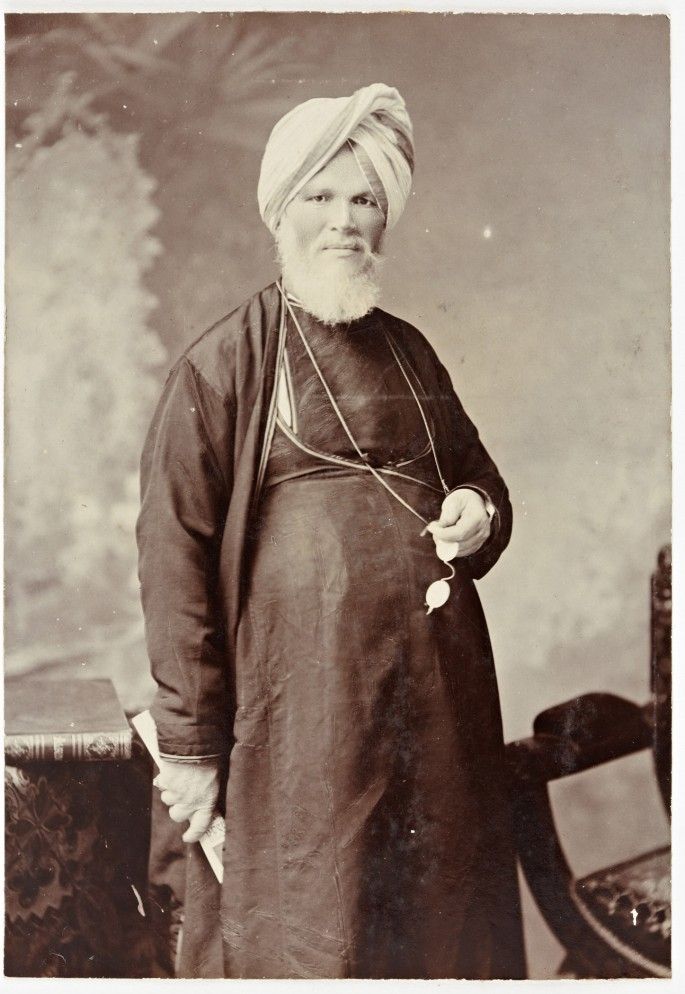 E. Craig, Raja Deen Dayal &amp;amp; Sons studio, Bombay., </span><span><em>Portrait of Raja Deen Dayal, Mumbai, Maharashtra, India, April 1904.</em>, </span><span>  ©2011 Peabody Essex Museum PH81.91