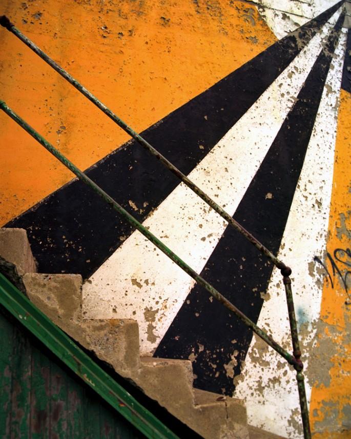 Evan Steingarten, </span><span><em>Stair Rays</em>, </span><span>2008