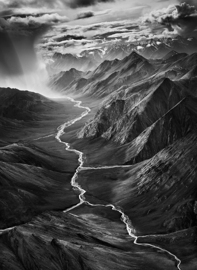 Sebasti&amp;#227;o Salgado, </span><span><em>The eastern part of the Brooks Range, which rises to over 9,800 feet (3,000 meters)</em>, </span><span>&lt;br /&gt; The Arctic National Wildlife Refuge.  Alaska.  USA.  2009 &amp;amp;#169 Sebasti&amp;#227;o Salgado / Amazonas images